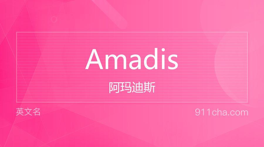 Amadis 阿玛迪斯