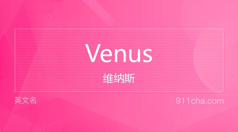 Venus 维纳斯