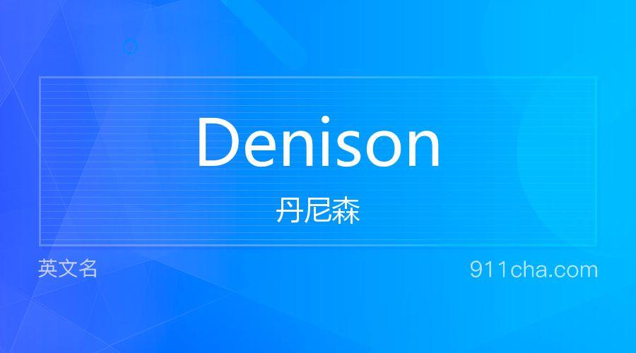 Denison 丹尼森