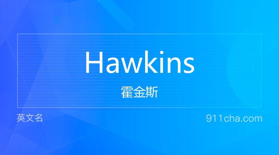Hawkins 霍金斯