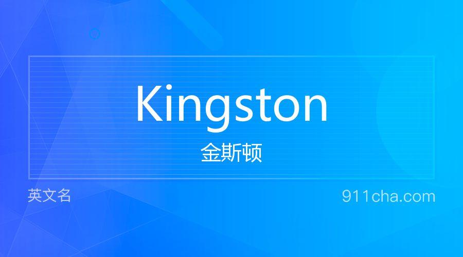 Kingston 金斯顿